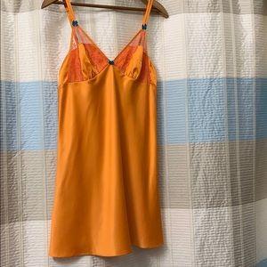 Betsy Johnson sexy orange chemise